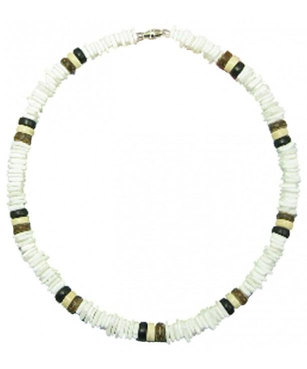 Native Treasure Shell Necklace White