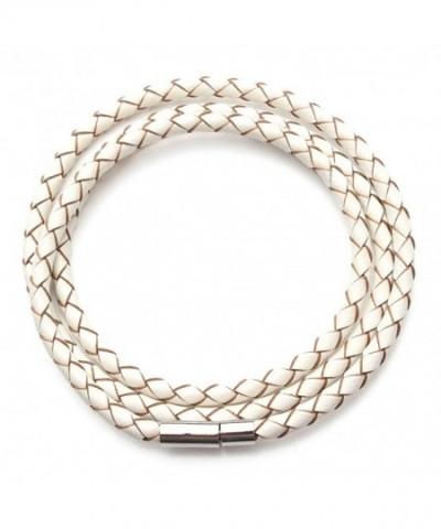 Linsoir Leather Braided Bracelet Bayonet