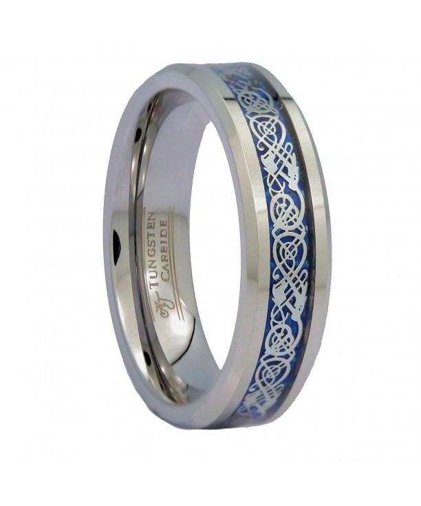 MJ Celtic Tungsten Carbide Wedding