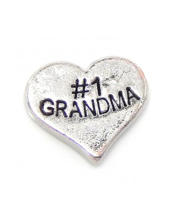 Jewelry Monster Grandma Floating Lockets