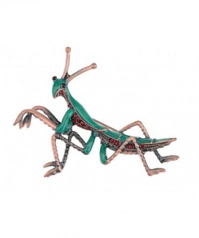 Alilang Copper Colored Rhinestones Mantis
