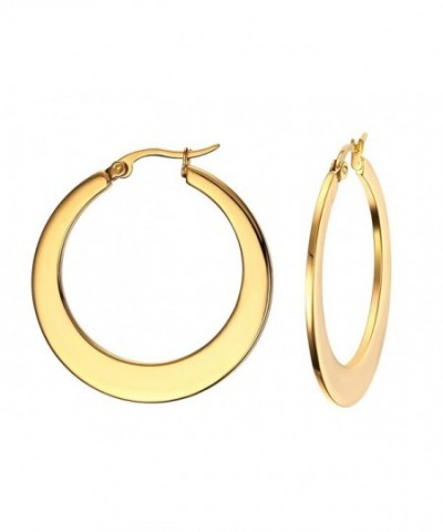 ccede80ed Plated Stainless Polished Earrings resisted; Women's Hoop Earrings ...