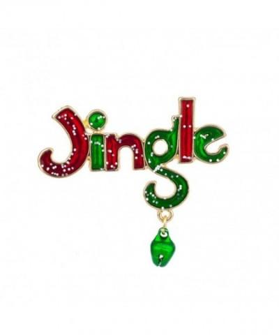 Lux Accessories Jingle Dangle Christmas
