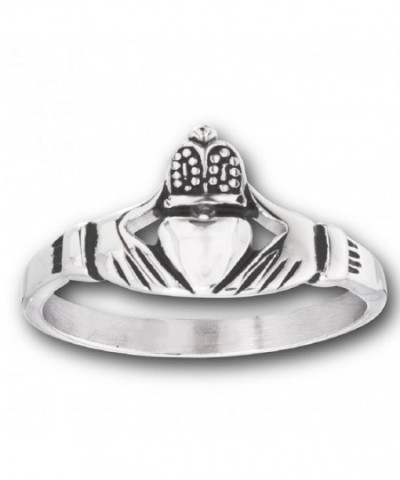 Stainless Friendship Loyalty Claddagh Celtic