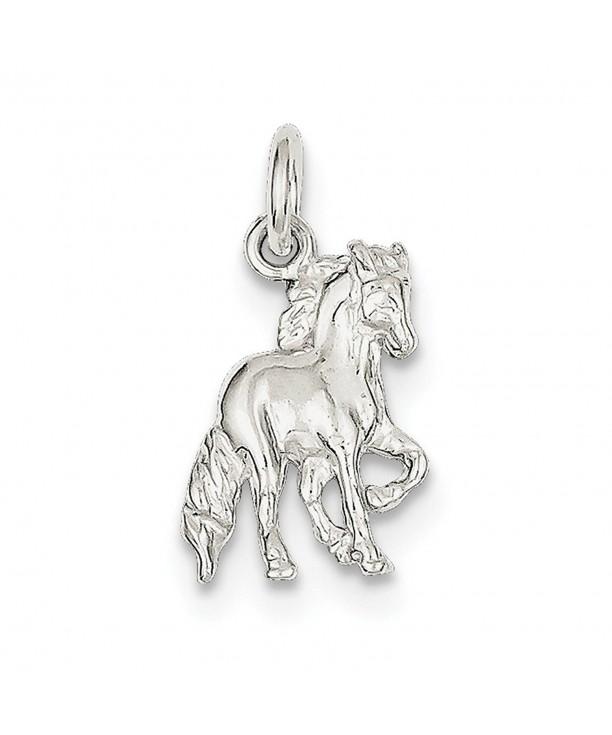 Solid Sterling Silver Equestrian Cowboy