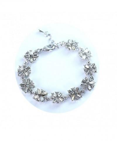 Sterling Swarovski Bracelet Zirconia Bracelets