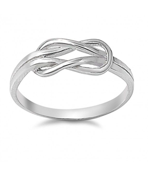 Infinity Buckle Sterling Silver RNG14844 6