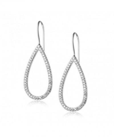 Evermarker Titanium Sterling Earrings Waterdrop
