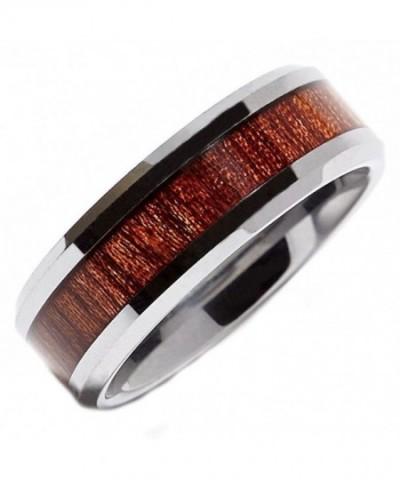 MJ Tungsten Carbide Rosewood Wedding