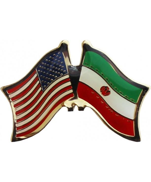 Flagline Iran Friendship Lapel Pin