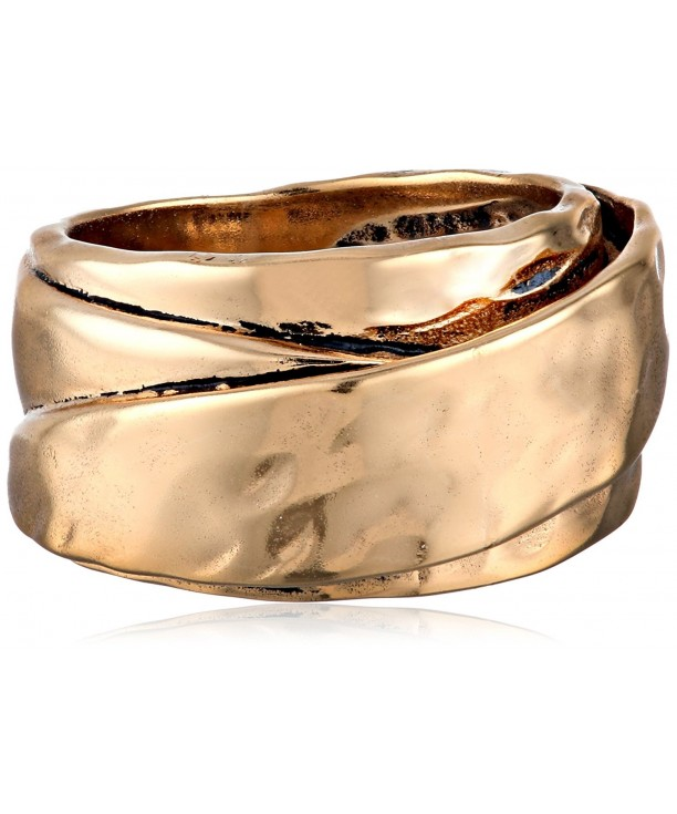 Barse Hammered Ring Size 8