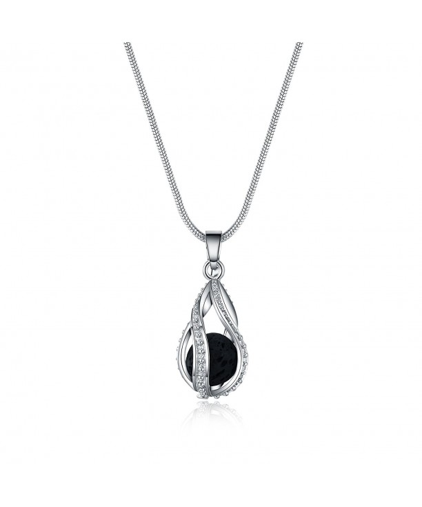 Rosa Vila Teardrop Stone Necklace