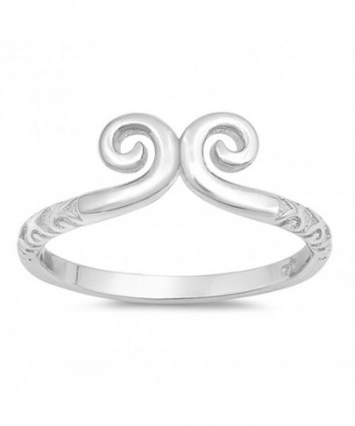 Polish Fashion Statement Sterling Silver