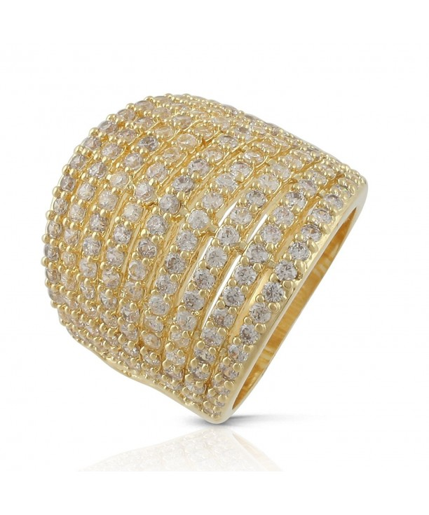 JanKuo Jewelry Plated Mirco Zirconia