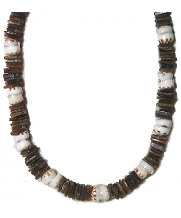 Native Treasure Brown Necklace Shells