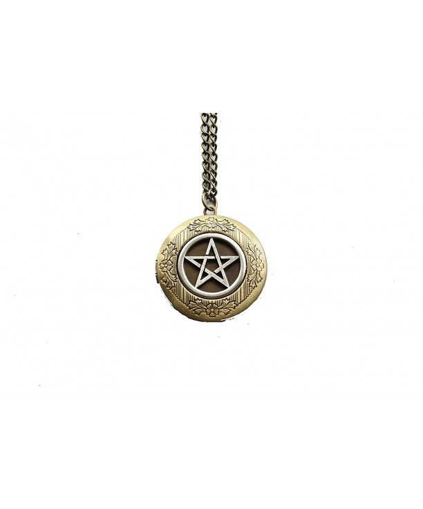 Ancient Bronze the Supernatural Jewelry Vintage Locket Necklace C3127L9F1ZD