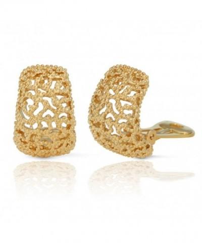 JanKuo Jewelry Plated Vintage Earrings