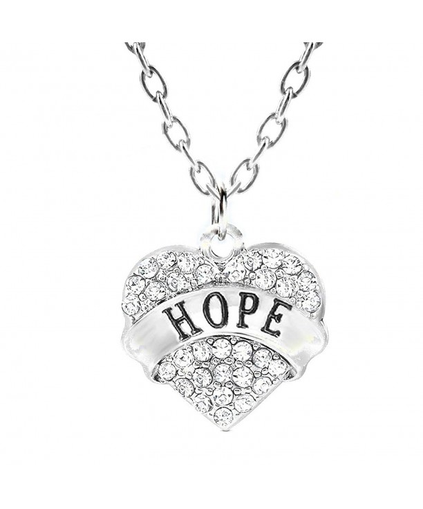 Necklace Adorable Silver Motivational Jewelry