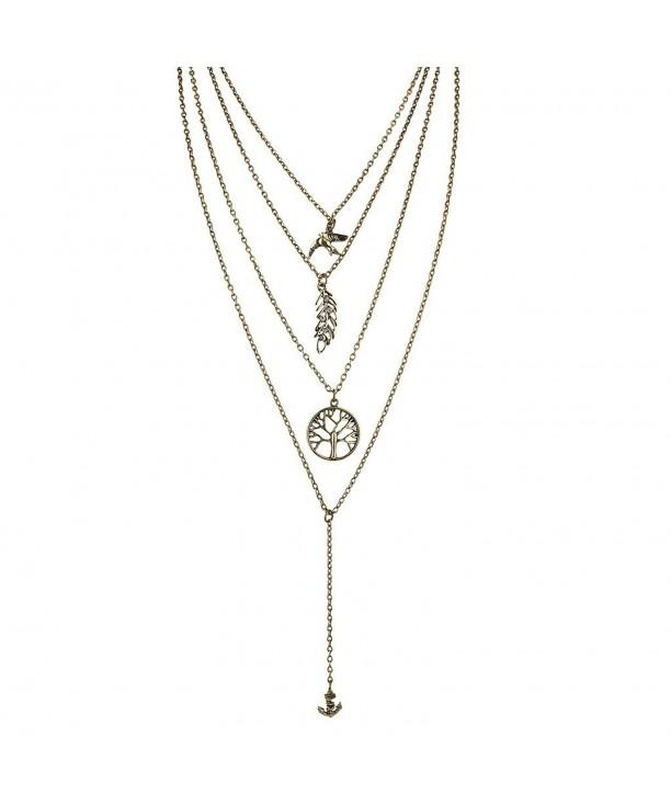 Lux Accessories Burnish Goldtone Necklace