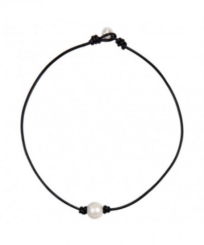 Barch Necklace Genuine Leather Handmade