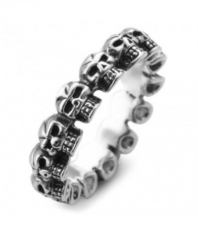Sterling Silver Vintage Gothic Unisex