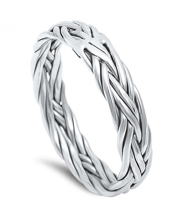 Braided Celtic Sterling Silver 17028 ox
