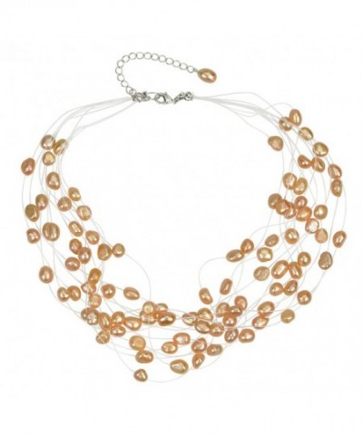 Regalia Freshwater Cultured Floating Necklace