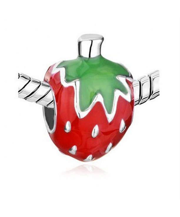 Athena Jewelry Sweet Strawberry Enamel