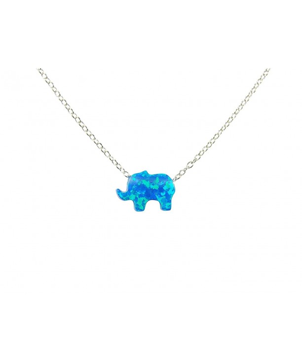 Elephant Sterling Silver Necklace Necklace