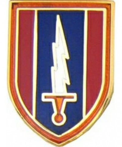 Army 1st Signal Brigade Lapel