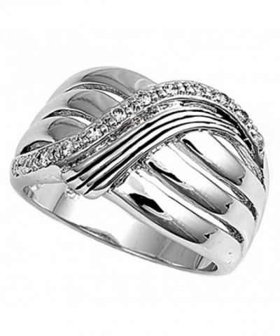 Sterling Silver Womens White Fashion