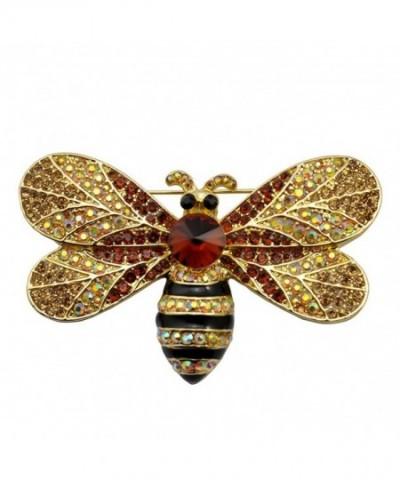 13a523b89 Antique Vintage Spray Crystal Rhinestone Bridal Brooch Pin for ...