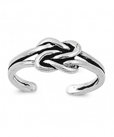 Sterling Silver Infinity Finger Knuckle