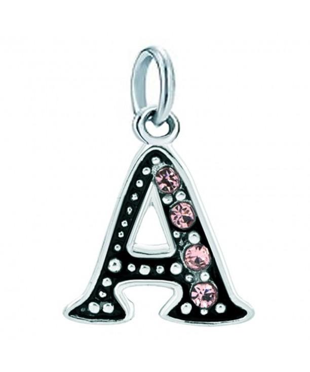 Christmas Alphabet Birthstone Bracelets Necklace