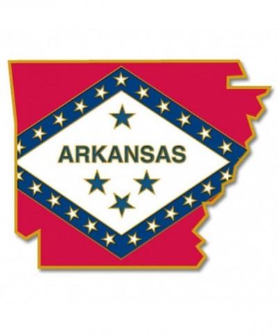 PinMarts State Shape Arkansas Flag
