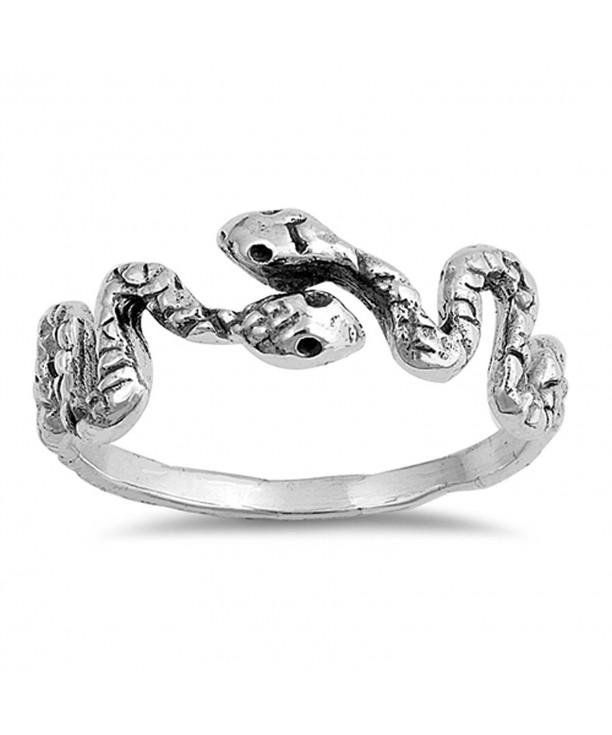 Snake Animal Thumb Sterling Silver