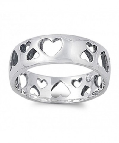 Eternity Cutout Girlfriend Sterling Silver