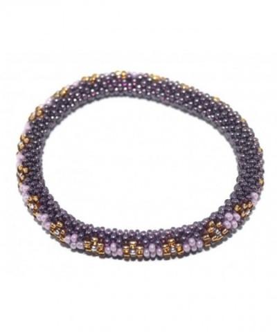 Crochet Glass Bracelet Nepal SB205