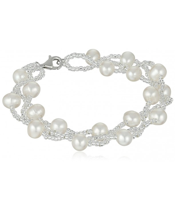 Bella Pearl Sterling Freshwater Cultured