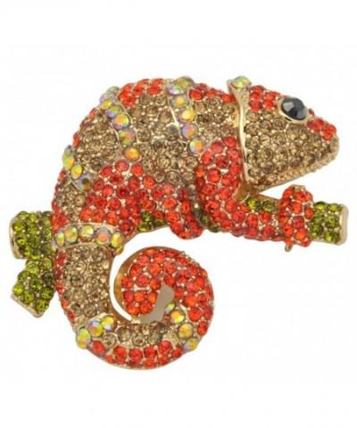 Gyn Joy Rhinestone Chameleon BZ033