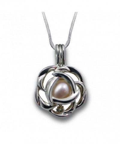 Sterling Silver Freshwater Cultured Necklace