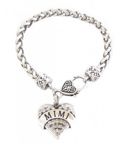 Crystals Fashion Lobster Bracelet Jewelry