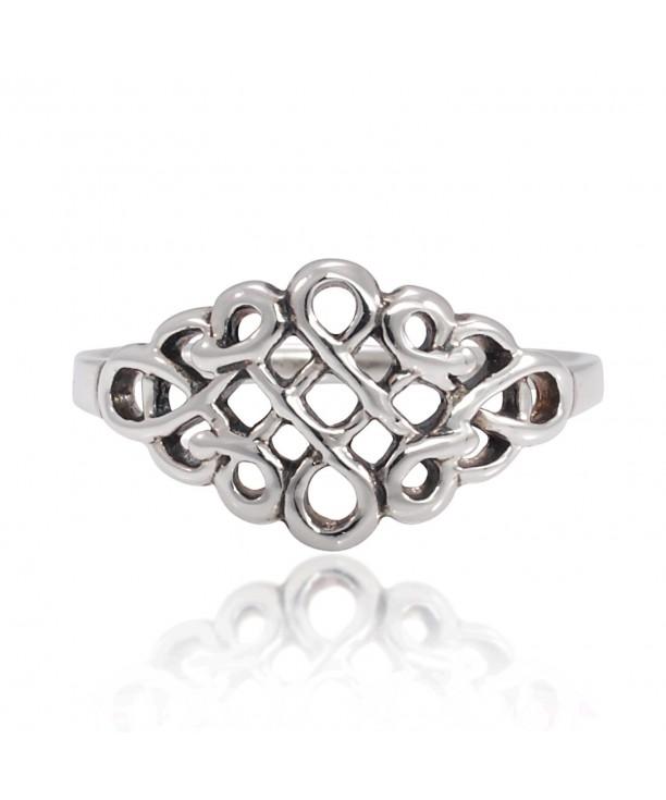 Sterling Silver Celtic Infinity Women