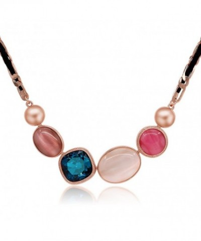 Kemstone Colorful Zirconia Necklace Jewelry