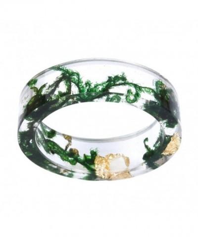 Arrival Handmade Green Flowers Transparent