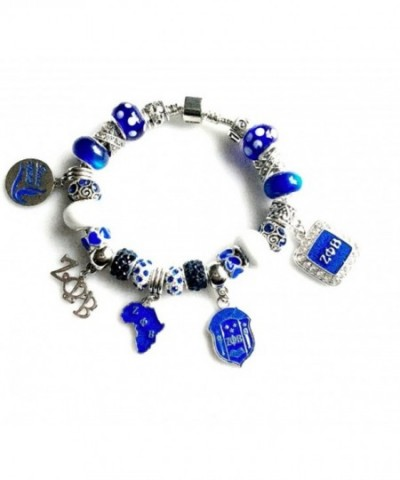 Sorority Charm Bracelet Sizes Available