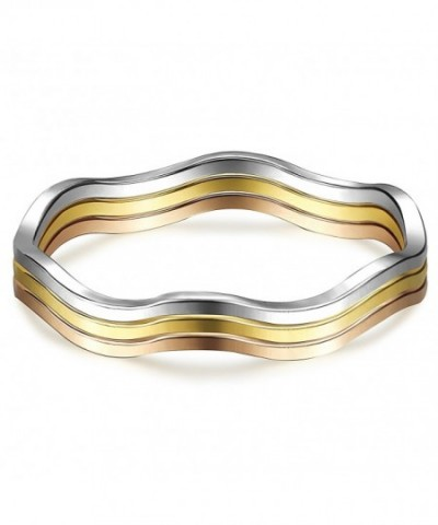 LOYALLOOK Womens Stainless Knuckle Stacking