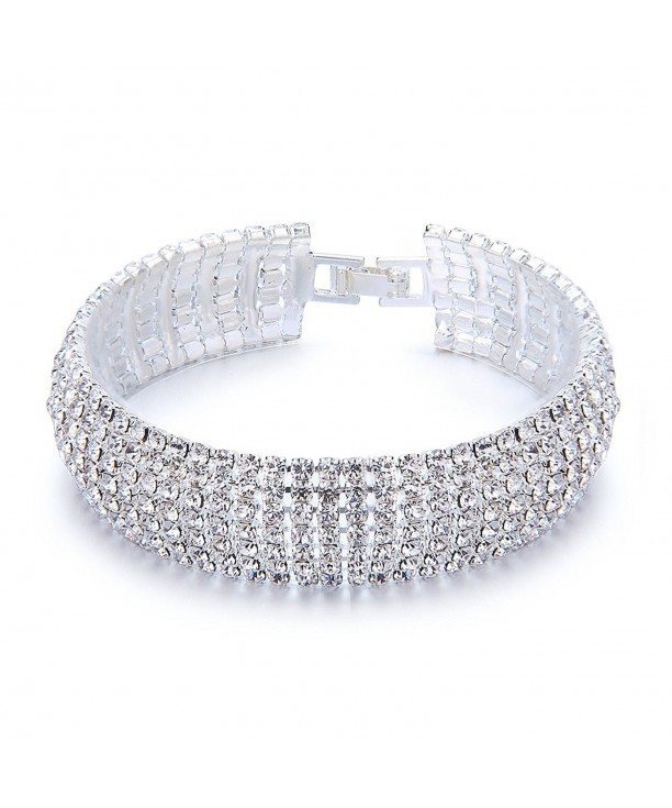YUXI Rhinestone Bracelet Austrian Bracelets