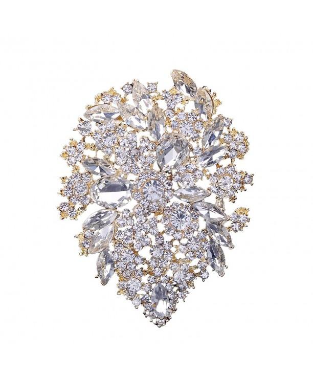 Yilanair Wedding Multicolor Diamond Rhinestone
