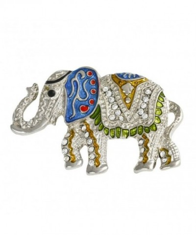 Stunning Crystal Animal Rhinestone Elephant